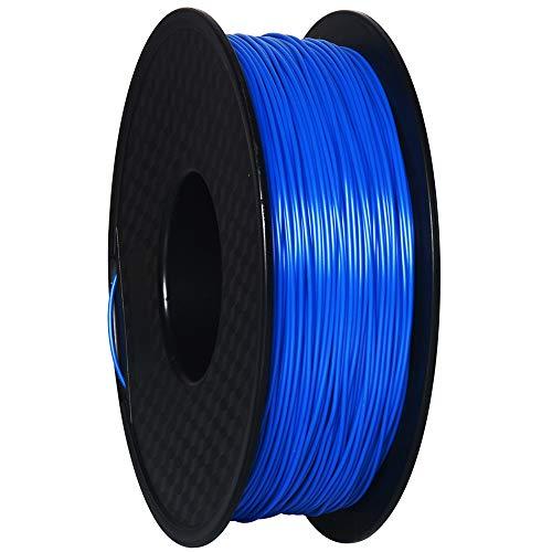 GEEETECH 3D Filament PETG 1,75 mm 1 kg per stampante 3D, Blu,Precisione Dimensionale +/- 0,02 mm