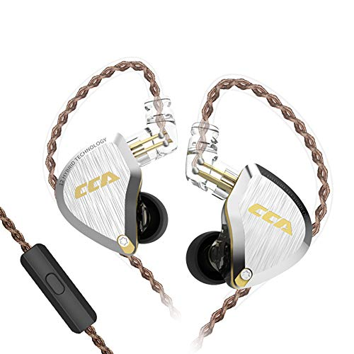 CCA Hybrid Hifi Earphones