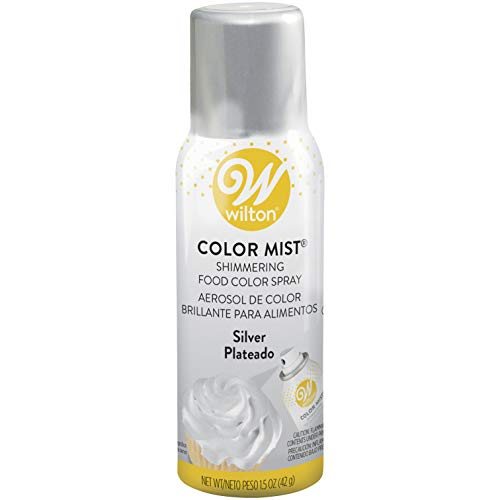 Wilton 710-5521 Metallic, 1.5 oz, Silver Color Mist