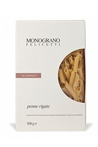 Felicetti, Penne Rigate Monograno Cappelli, 500 grammi