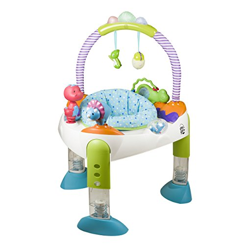 Evenflo Exersaucer Fast Fold & Go, D is for Dino