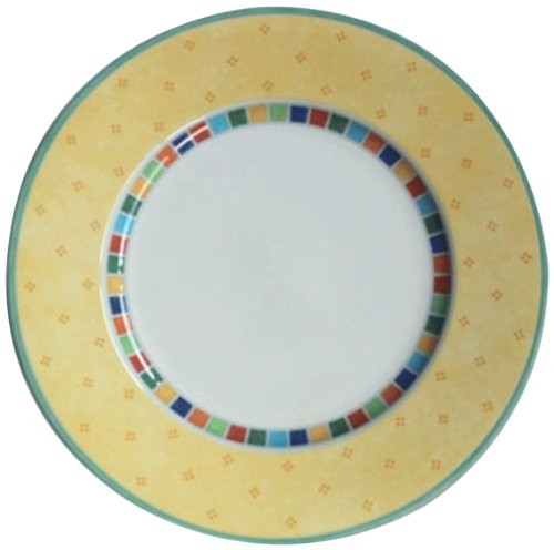 Villeroy & Boch 10-1360-2610 Twist Alea Limone Speiseteller 27 cm 6-er Set
