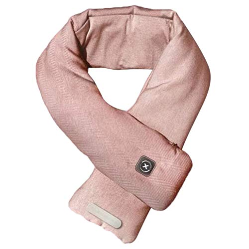 spier Heated Scarf, Usb Heated Scarf Pain Relief Neutral Scarf Heating Pad For Ski Camping Winter Warmth