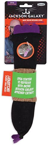 Petmate Jackson Galaxy Refillable Twisted Kicker with Catnip