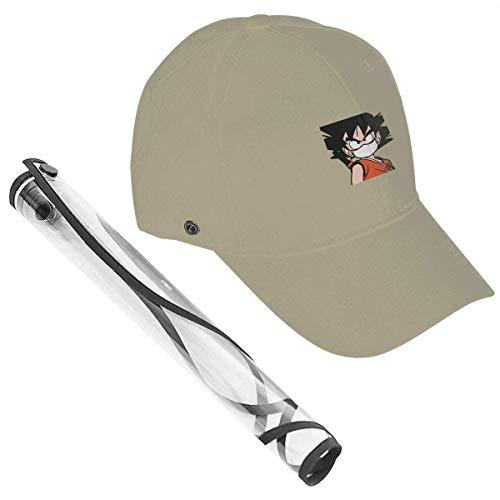 Gorra de béisbol Protectora Casquette Desmontable Ajustable Hats-J8