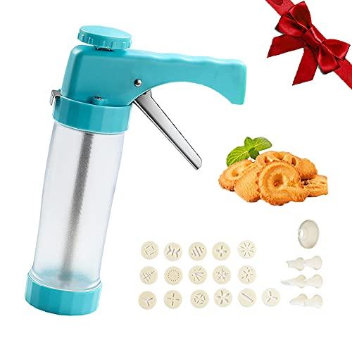 Cookie Press Gun Kit, Biscuit Maker Machine...