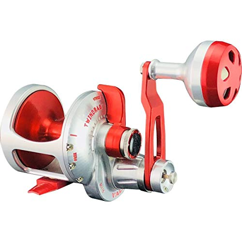 Accurate Valiant BV2-500 Reel - Right-Handed - Red/Silver