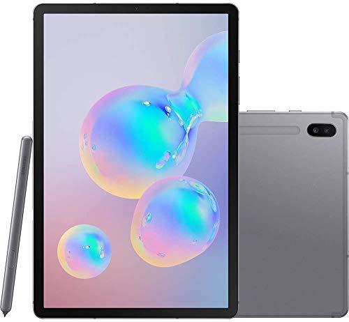 "Tablet Samsung Galaxy Tab S6, 128GB, Tela 10.5"", Octa Core, Prata"