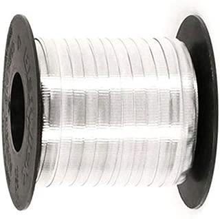 Gümüş Renk 8 mm Metalik Rafya 150 Metre