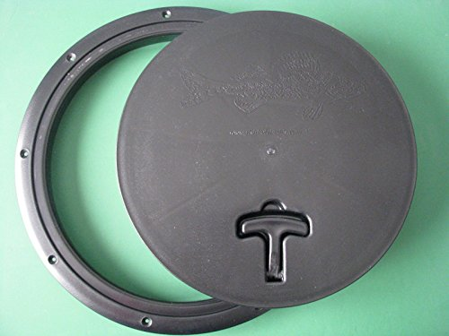 Fish House Hole Cover Square Trim Ice Fishing (Round)