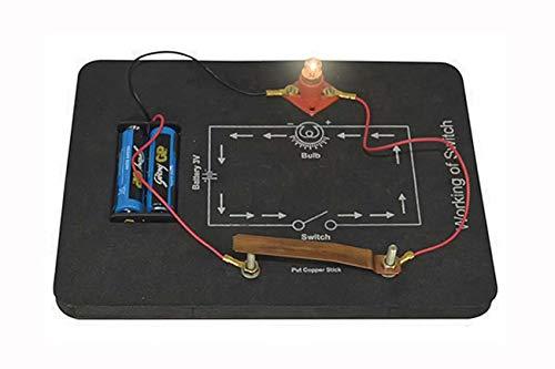 Teachingnest TN's Working of a switch | DIY Kit | Multicolor | EVA foam, Metal