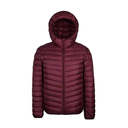 Tongxi Daunenjacke Plus 9XL 10XL 11XL Daunenmantel Herren Größe 90% Ultraleichte Daunenjacke Herren Leichte warme Jacke Mit Kapuze Federparka