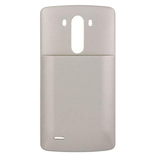 Zhouzl Repuestos LG Reemplazo de la Cubierta Posterior y de la batería de Litio-Ion de Recargable for LG G3 / D855 / VS985 / D830 Repuestos LG (Color : Gold)