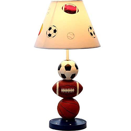 Cartoon Basketball Child Room stof, creatief, jongens, slaapkamer, kantoor, werkkamer, voetbal, tafellamp, wandlamp, modern leven