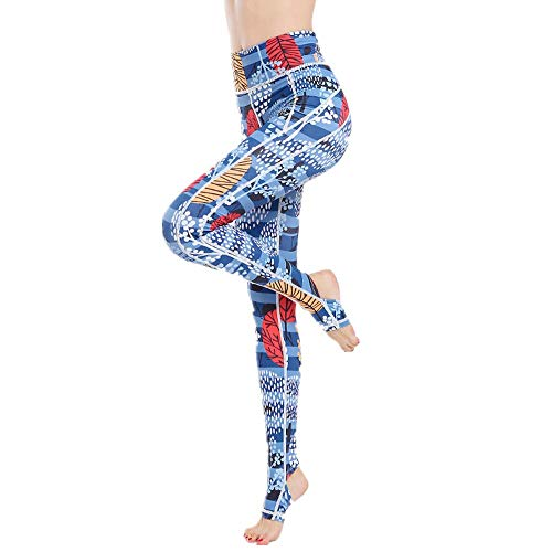 Home's Pantalones De Yoga para Mujer Tummy Control Workout Running Leggings