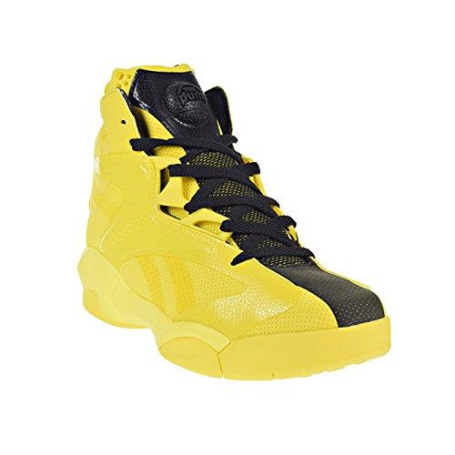 Reebok Shaq Attaq Modern Men's Basketball Shoes Yellow Spark/Black bd4602 (8 D(M) US)