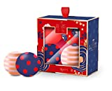 The Luxury Bathing Company Fabulous Fizz Bath Bomb Festive Gift Set. Including 4 x 50g Bath Fizzers