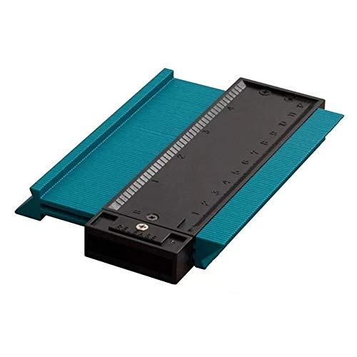 Contour Gauge, Profile Gauge Measure Ruler Contour Duplicator voor houtbewerking, Circular Frames, Goten, Deur kozijnen, hout, porselein