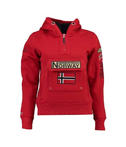 Geographical Norway - Sudadera para Mujer Rojo S
