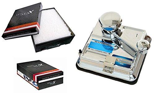 Stopfmaschine OCB DUO MIKROMATIC & 1000 MAX Filterhülsen