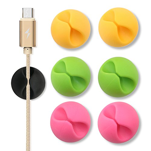 ONME Multipurpose Cable Clips (Colorful)
