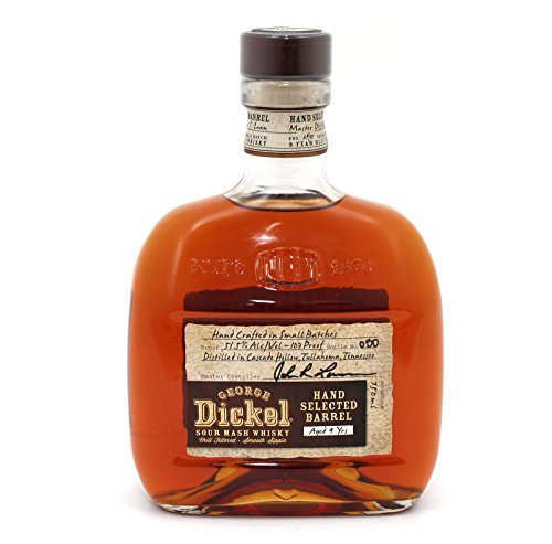 Small Batch GEORGE DICKEL - 9 Jahre - HAND SELECTED BARREL - Tennessee Whisky - 51,5% - 700ml