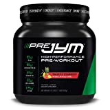 Pre JYM Pre Workout Powder - BCAAs, Creatine HCI, Citrulline Malate, Beta-Alanine, Betaine, and More   JYM Supplement Science   Pineapple Strawberry Flavor, 20 Servings