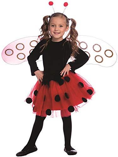 Dress Up America Costume de robe de coccinelle pour filles