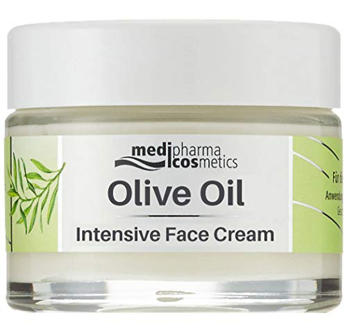 Medipharma Cosmetics Intensive Face Moisturizer Cream for very dry Skin | Daily Moisturizing Facial Lotion for Women & Men | Extra Dry Skin Care | Paraben-Free, Olive Oil, Vitamin A, Vitamin E (50ml)
