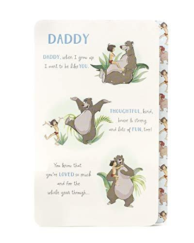 Geburtstagskarte für Vater, Dschungelbuch, Geburtstagskarte für Ihn, Disney-Geburtstagskarte