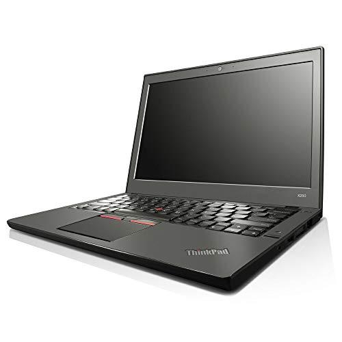 Lenovo ThinkPad X250 (12.5 Inch HD) Laptop Intel i5-5300U 2.90GHz, 16GB RAM, 1000GB SSD, Win 7 Pro, Bluetooth, USB 3.0, HD Webcam + G-Data Antivirus