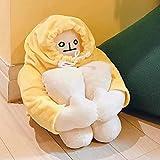 Banana Man Plush Toy Stuffed Doll with Magnet Funny Man Doll Decompression Birthday Toy