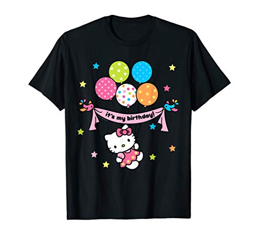 Hello Kitty It's My Birthday Geburtstag T-Shirt