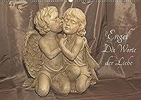 Engel - Die Worte der Liebe (Wandkalender 2022 DIN A2 quer): 12 Engelbotschaften begleiten Sie durchs Jahr. (Monatskalender, 14 Seiten )