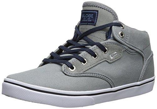 Globe Motley Mid NS gbmotleym–Chaussures de skate de daim pour Homme gris 37 EU