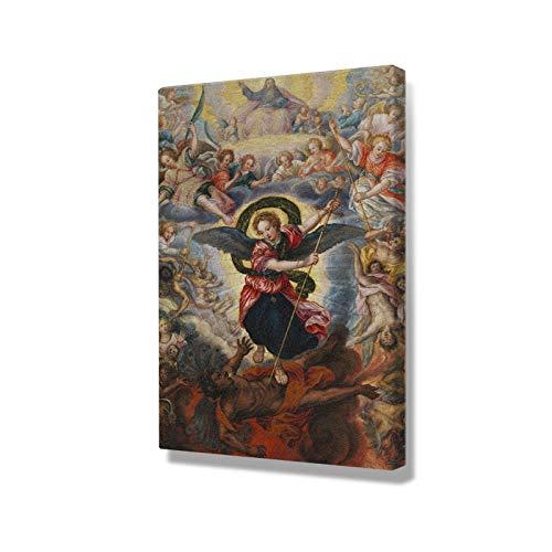 Kamer decoratie schilderen Bijbelse religieuze kunst schilderij Wall Art Canvas voor woonkamer Home slaapkamer studie slaapzaal Decor Prints-40x60cm geen frame