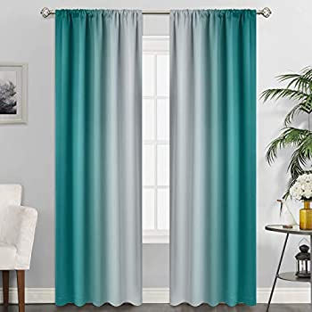 Best white teal curtains Reviews