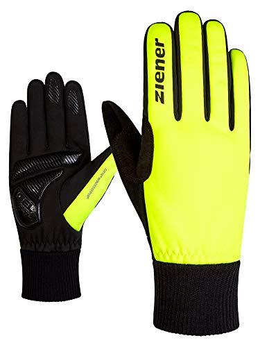 Ziener Erwachsene SMU 18-GWS 414 Bike Glove Handschuhe, Poison Yellow, 6.5 (XS)
