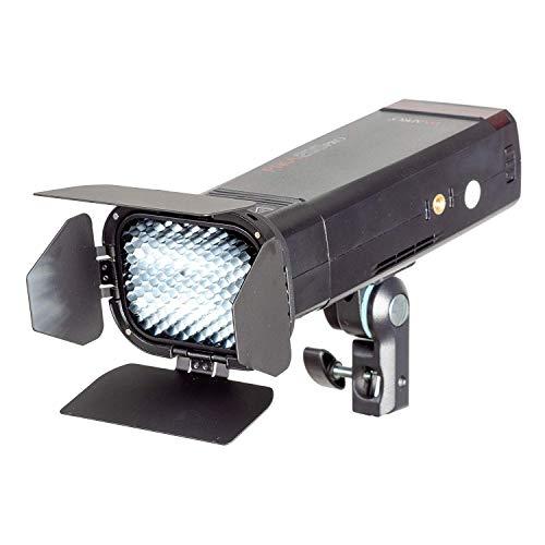Pixapro PIKA200 pro Draagbare Flash met Barndoor Set verlichting licht Studio Fotografie 2 jaar UK garantie Britse goederen BTW geregistreerd