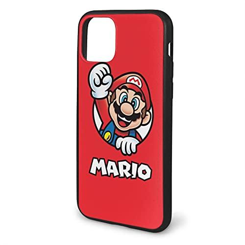 Carcasa blanda para iPhone 11-6.1, diseño de Super Game Mario
