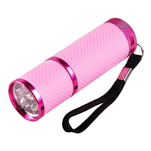 Lilon, lampada portatile a LED per lampada a torcia UV, portatile per unghie gel ad asciugatura rapida, asciugatura rapida, velocità fototerapia, basso consumo, funzionamento a batteria