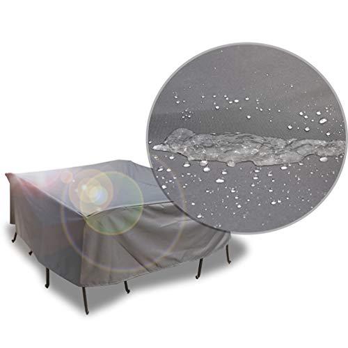 Couverture anti-poussière - Table et chaise anti-poussière pour meubles de jardin Housse de protection imperméable Protection contre la pluie Protection solaire Equipement housse de canapé (taille 15)