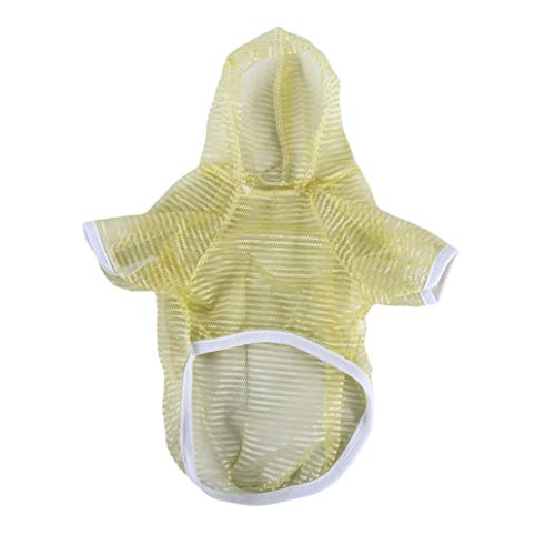 KISSFRIDAY Hund schützende Solar Hoodie Kleidung Anti UV Pet Sommer Weste Shirt (Farbe 2M)