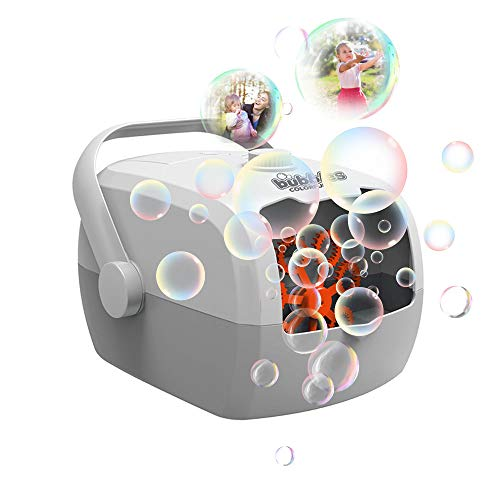 Bubble Machine Automatic Bubble Maker, Portable Bubble Blower for Kids Adults, for Parties Wedding Gifts Festival