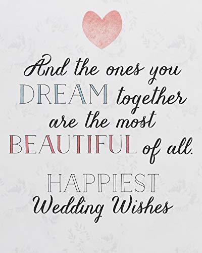 American Greetings Wedding Card (Cinderella)