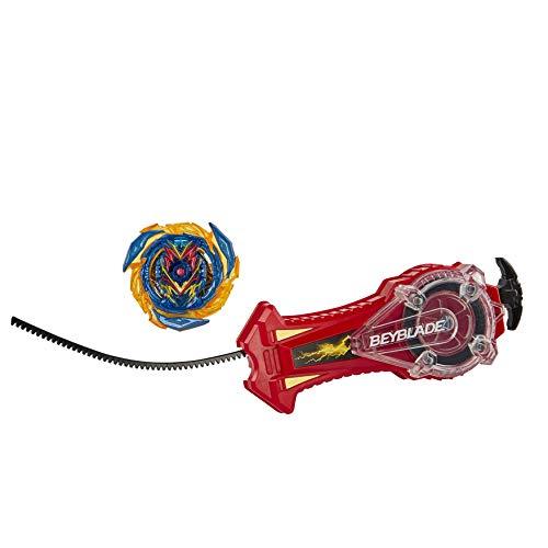 Hasbro Beyblade Burst Surge Speedstorm Spark Power Set – Battle Spielset mit Funken sprühendem Starter und rechtsdrehendem Kreisel für Wettbewerbe