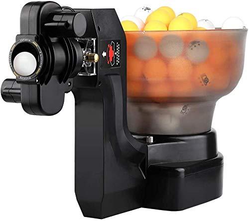 jiarui Macchina automatica per palline da Ping Pong Robot da Allenamento per Tennis da tavolo Robot professionale da Ping Pong, con 36 Diverse palline rotanti, può contenere 100 palline