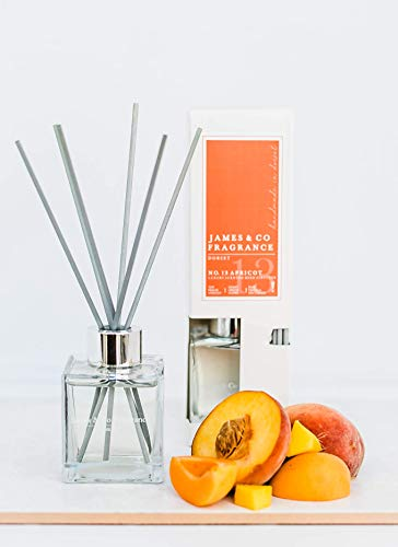 James & Co No.13 Apricot 100ml Fragrance Reed Diffus