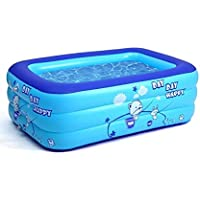 Derekey 2021 Upgraded Family Inflatable Swimming Pool
