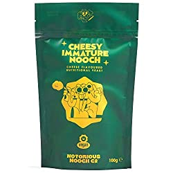 👼 - Natural vegan goodness Notorious nooch is made using yeast flakes flavoured with yeast, simple and delicious. Our cheesy nooch flavour is created by taking yeast and making it more yeasty. It's a yeasty double down. 🍕 - Flavour Town There is a pa...